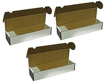 BCW - Caja de Almacenamiento para Cartas de 3 CT. 800 ...