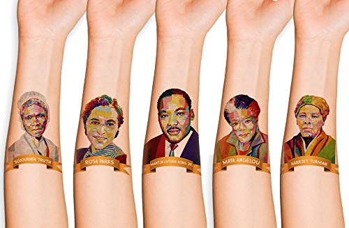 15 Black History Month Temporary Tattoo | Black History Month Decorations | Black History Month Gift Supplies | Party Favors