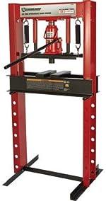 Strongway 20-Ton Hydraulic Shop Press
