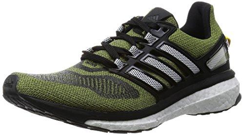 Adidas Energy Boost 3-Adidas zapatillas hombre, talla 43,5, color verde