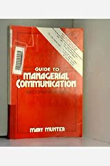 Guide to Managerial Communication Paperback