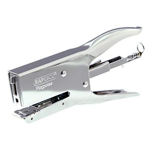 Rapesco Plier Stapler, Porpoise, 50 Sheet Capacity, Metal