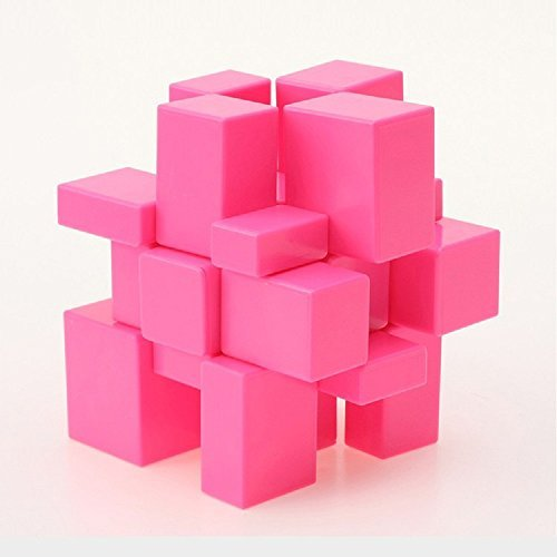 Yuxin 3 x 3 Mirror Cube Puzzle Stickerless Pink