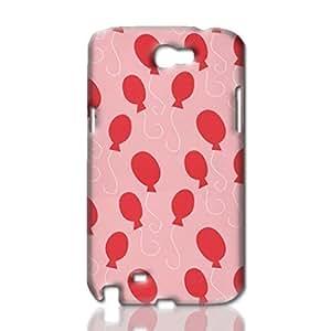 Balloon Pattern Photo Hard 3D Rough Case , Fashion Image Case Diy, Personalized Custom Durable 3d Samsung Galaxy S5 I9600/G9006/G9008