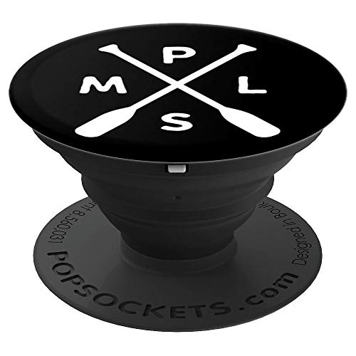 Twins Note Minnesota - Minneapolis Minnesota Twin Cities PopSockets Grip - PopSockets Grip and Stand for Phones and Tablets