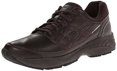 ASICS Men's Gel-Foundation Workplace Walking Shoe,Dark Brown/Black,6 M US