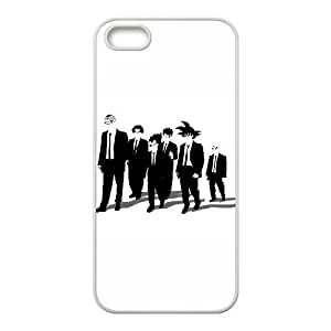 iPhone 5 5s Cell Phone Case White Z Dogs K1I2J