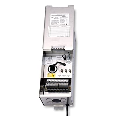 Kichler Professional Series Transformer, Stainless Steel Finish, X10 Remote Systems Compatible
