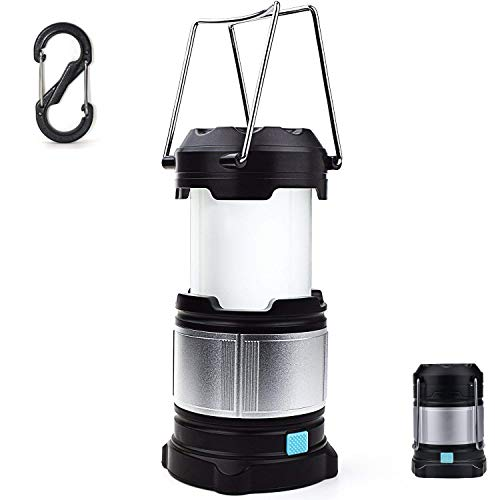 WINDFIRE Rechargeable LED Camping Lantern,Tent Light Water Resistant LED Camping Light Portable Collapsible Design with Power Bank,Magnetic Base,Hook,USB Cable,Rechargeable Batteries Included.