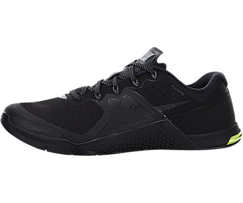 Cheap NIKE Mens Metcon 2 Synthetic Trainers, Black/Black/Cool Grey/Volt, 13 D(M) US