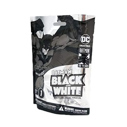 - DC Collectibles Batman Black & White Blind Bag Mini Figures Wave 1 18Piece Case