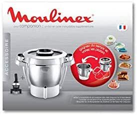 Bol completo Companion para piezas de preparación culinaria, pequeño electrodoméstico Moulinex: Amazon.es: Hogar