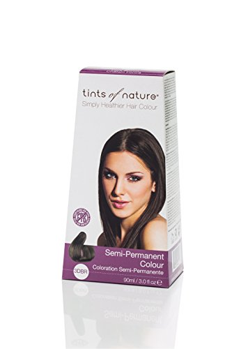 Semi-Permanent Hair Colour- 3DBR Dark Brown 3 Ounces (Semi Tint)