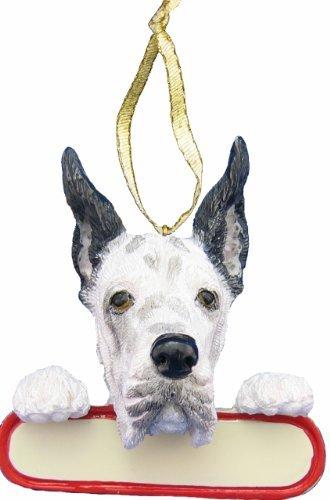 Santa Harlequin (Harlequin Dane Ornament