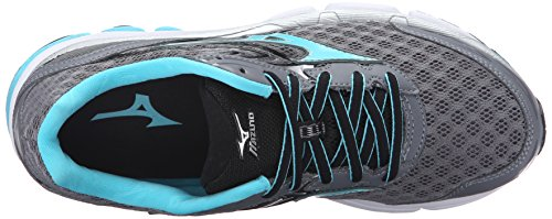 Mizuno Women's Wave Inspire 12-w Running Shoe, Quiet Shade-Capri, 7 B US by Mizuno (Image #8)