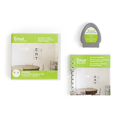 Cricut 2002176 Home Décor Vinyl Wall Art Cartridge