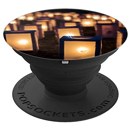 Lights Christmas Luminaries Night Dark Decoration - PopSockets Grip and Stand for Phones and Tablets