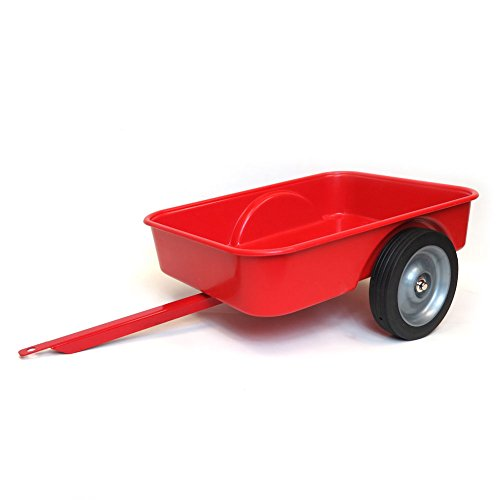 Red Trailer for Pedal Tractor (Pedal Wagon)