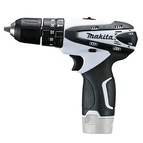 Makita HP330DWZ 10 8V Li-ion Cordless Combi Drill in White