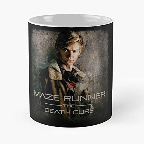 Best 11 oz Taza De Caf/é 92Wear Meme Hot Funny Trending Newt The Death Cure Maze Runner Scorch Trials TMR Taza De Motivos De Caf/é
