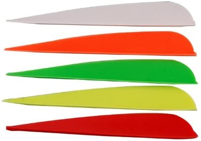 "Lot TPU Vanes Archery Arrow Fletches Fletching 2/"" Vanes 8 Colors for Choice"