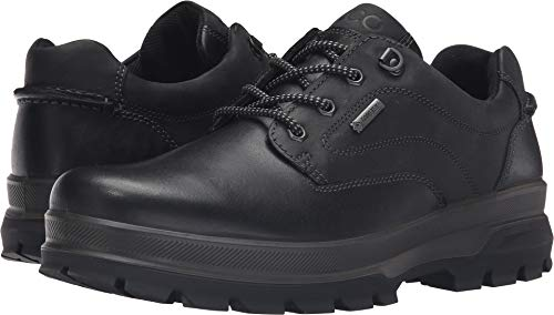 ECCO Men's Rugged Track GTX Tie-M, Black, 46 EU/12-12.5 M US (Best Men's Walking Shoes For Europe)