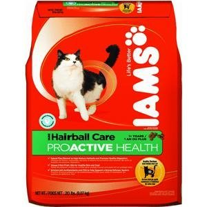 ProActive Health Adult Cat Hairball Care Dry Cat Food (20-lb bag), My Pet Supplies