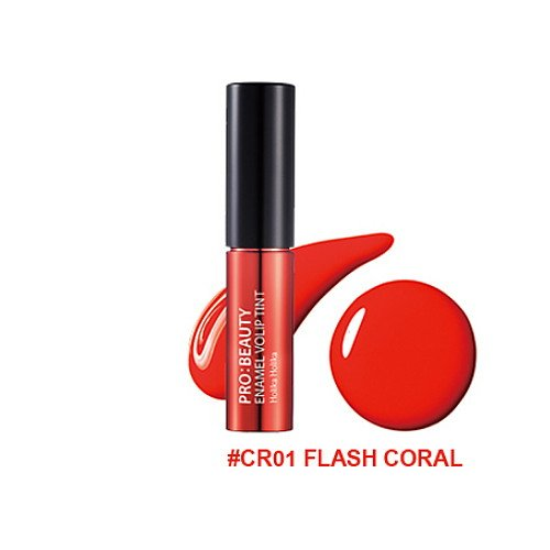 3-Pack-HOLIKA-HOLIKA-PRO-Beauty-Enamel-Volip-Tint-CR01-Flash-Coral