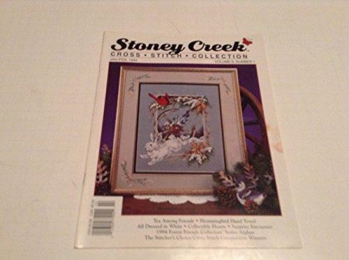 (FEBRUARY 1994 STONEY CREEK CROSS STITCH MAGAZINE)