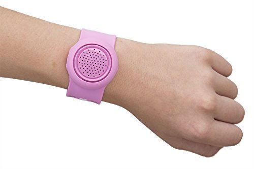 Water Resistant Silicone Bluetooth Speaker (Pink) - 4
