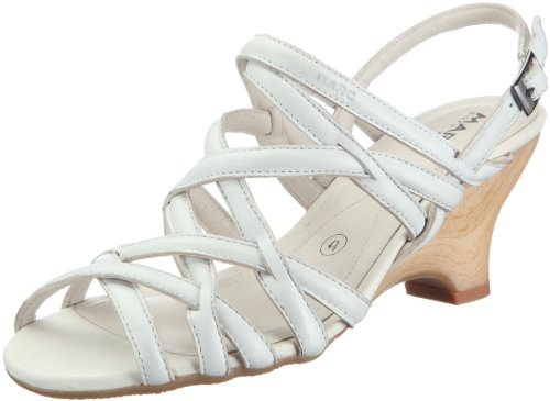 Marc Shoes 1.457.01, Damen Sandalen Weiß (offwhite)