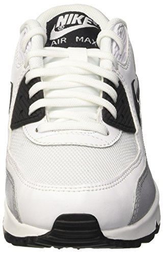 Max 90 Grey Black White Bianco Essential Sportive Nike Donna Scarpe Air Wmns Wolf 4qwxSqngOB