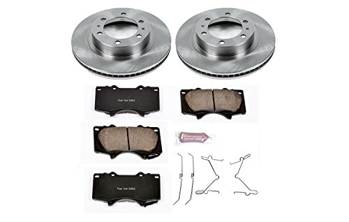 2008 Toyota Tacoma Prerunner - Autospecialty KOE137 1-Click OE Replacement Brake Kit