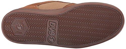 DVS Shoes Quentin, Zapatillas de Skateboarding para Hombre marrón