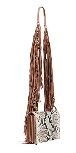 483f453d4958 Amazon.com: Roberto Cavalli Class GWLPEV D88 Lauren 001 Beige Small ...