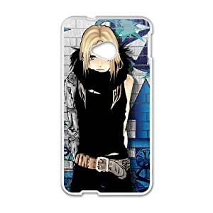HTC One M7 phone cases White FULLMETAL ALCHEMIST fashion cell phone cases HYTE5036563