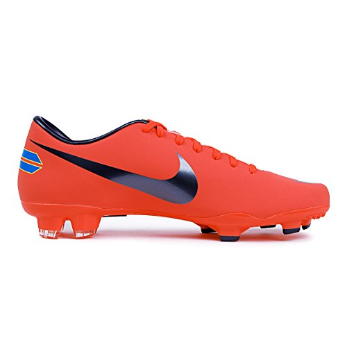 Mercurial Victory III Firm Ground Soccer Boots-Orange (6.5)