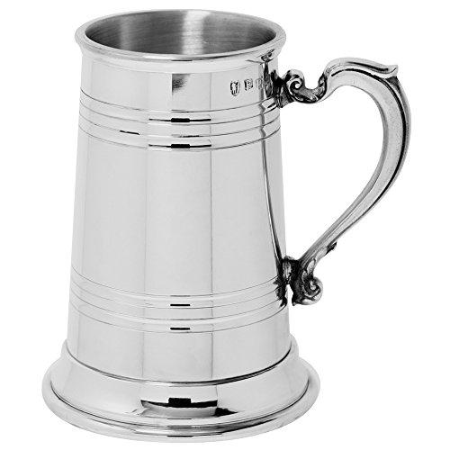 English Pewter Company Extra Heavy Pewter Beer Mug Tankard - Tankard Pewter Sheffield