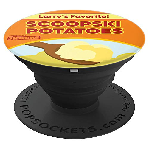 Impractical Jokers Scoopski Potatoes PopSockets Grip and Stand for Phones and Tablets