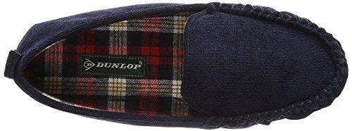Dunlop Adrien, Mocassino, Blu - Blu - Taglia: 41