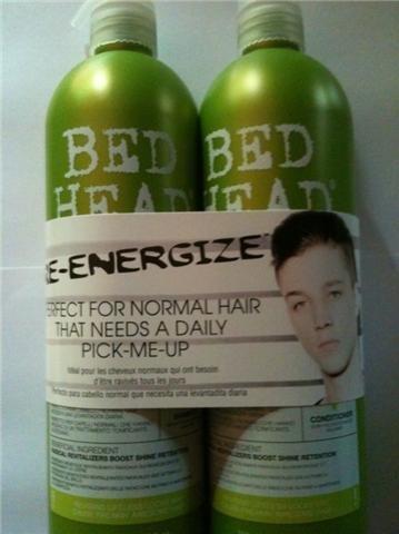 TIGI Bed Head Re-Energize Shampoo & Conditioner Duo 25.36oz