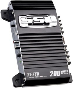 Soundstorm 2F200 200W 2-Channel High Power Amplifier
