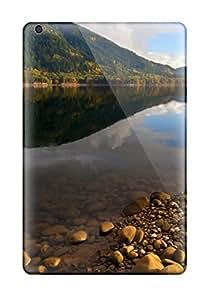 Premium Lake Back Cover Snap On Case For Ipad Mini/mini 2