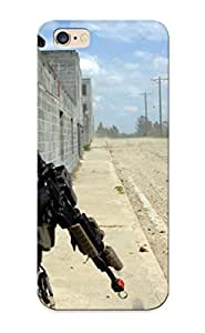 Runandjump Brand New Defender Case For Iphone 6 Plus (army American Gun Street Soliders ) / Christmas's Gift