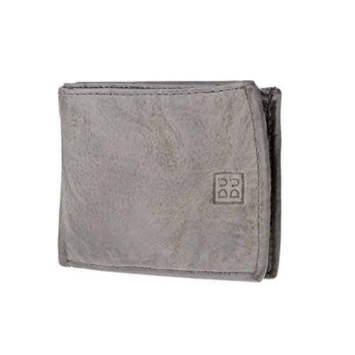 ~ leather in with by 473 pocket coin aged Man's look DUDU Ash wallet Timeless 580 Wallet Gray 4Bxw5qO