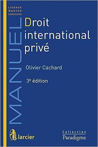 En ligne téléchargement gratuit Droit International privé pdf, epub