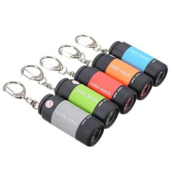 1 Pcs Mini Usb Torche Lampe De Poche Led Portable Rechargeable Porte