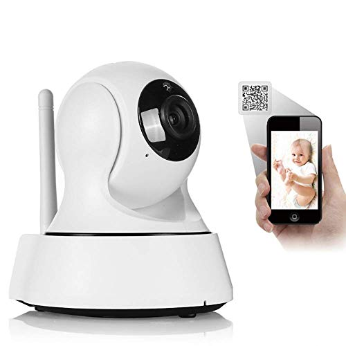 Eviago! Wireless Network Camera 720P Million Hd WiFi Camera for Pet, Baby, Elder. Two Way Audio, Motion Detection, Night Vision, MicroSD Recording for iPhone/Android Phone/iPad/Windows Remote View