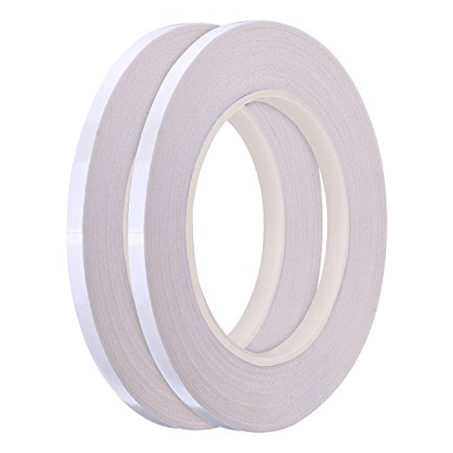 Hotop 1/4 Inch Quilting Sewing Tape Wash Away Tape, Each 22 Yard (2 Rolls) ()
