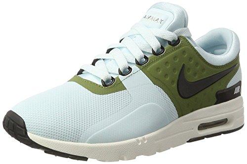 Nike Air Max Zero Women's Running Shoes, glacier blue/black-ivory-palm, 42 B(M) EU/7.5 B(M) UK